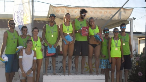 Beach volley: grande spettacolo all'Arzilla
